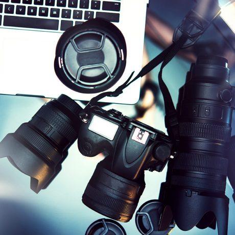 Kamera ir objektyvai